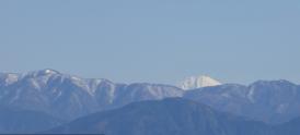 明神山からの富士