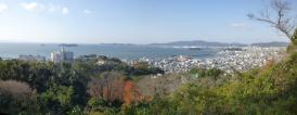 三谷弘法山の展望