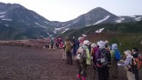 05-朝一番雄山へ出発